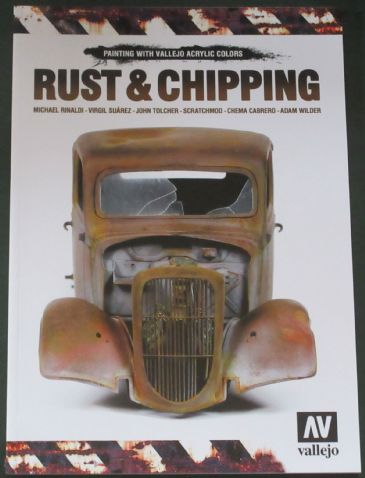 Rust & Chipping - Painting with Vallejo Acrylic Colours